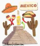 Mexico Stickers - Jolee's Boutique