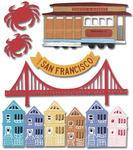 San Francisco  Stickers - Jolee's Boutique