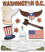 Washington D.C.  Stickers - Jolee's Boutique