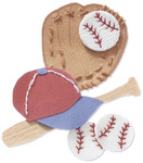 Baseball  3-D Stickers - Jolee's By You