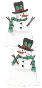 Snowmen  3-D Stickers - Jolee's By You