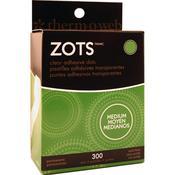 Zots Clear Dots Medium, 300/pkg