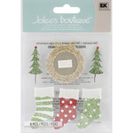 Season's Greetings  Stickers - Jolee's Boutique