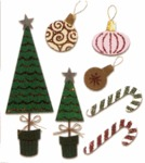 Christmas Decorations  Stickers - Jolee's Boutique