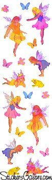 Sparkle Fairies - Mrs Grossman's Stickers