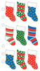 Christmas Stockings Sticko Stickers