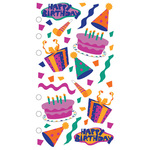 Birthday Fun Sticko Stickers