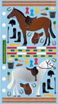 Horse Show Sticko Stickers