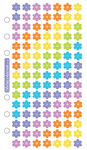 Jelly Flowers Sticko Stickers