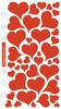 Foil Hearts Sticko Stickers