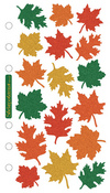 Leaves Metallic Sticko Stickers