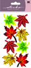 Vellum Maple Leaves Sticko Stickers