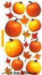 Autumn Pumpkins Sticko Stickers