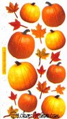 Autumn Pumpkins Sticko Stickers