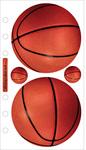 Basketball Sticko Stickers