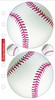 Baseball Sticko Stickers