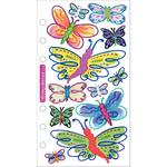 Vellum Butterflies Sticko Stickers