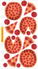 Pizza Party Sticko Stickers
