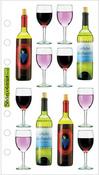 Wine Sticko Stickers
