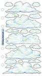 Vellum Clouds Sticko Stickers