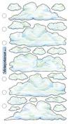 Vellum Clouds Sticko Stickers