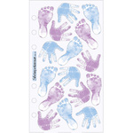 Baby Boy Prints Sticko Stickers