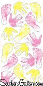 Baby Girl Prints Sticko Stickers
