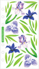 Vellum Irises Sticko Stickers