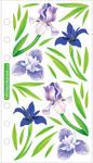 Vellum Irises Sticko Stickers