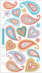 Vellum Paisley Sticko Stickers