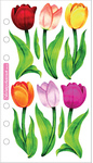 Vellum Tulips Sticko Stickers