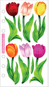 Vellum Tulips Sticko Stickers
