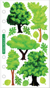 Vellum Trees Sticko Stickers