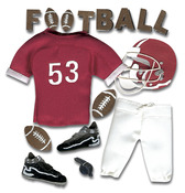 Football  Stickers - Jolee's Boutique