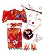 Kimono Stickers - Jolee's Boutique