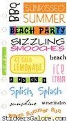 Sunkissed Summer Stickers
