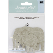 Elephants  3-D Stickers - Jolee's By You