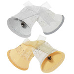 Gold & Silver Bells  3-D Stickers - Jolee's By You