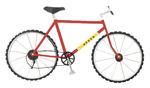 Red Bicycle  3-D Stickers - Jolee's By You