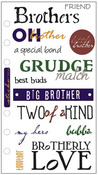 Brotherly Love Stickers