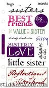 Sisterly Love Stickers