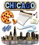 Chicago  Stickers - Jolee's Boutique