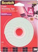 3M Scotch Foam Adhesive Mounting Tape 150""
