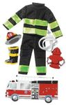 Firefighter  Stickers - Jolee's Boutique