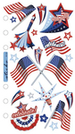 Vellum 4th Of July Sticko Stickers
