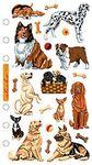 Dog Daze Sticko Stickers