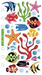 Vellum Tropical Fish Sticko Stickers