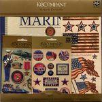 Marines Paper Kit - K & Company