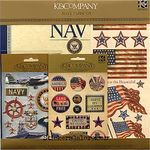 Navy Paper Kit