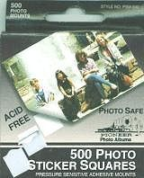 Pioneer White Photo Stickers 500
